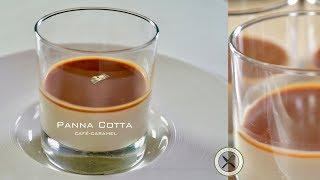 Panna Cotta Recipe  Café-Caramel  Bruno Albouze  The Real Deal