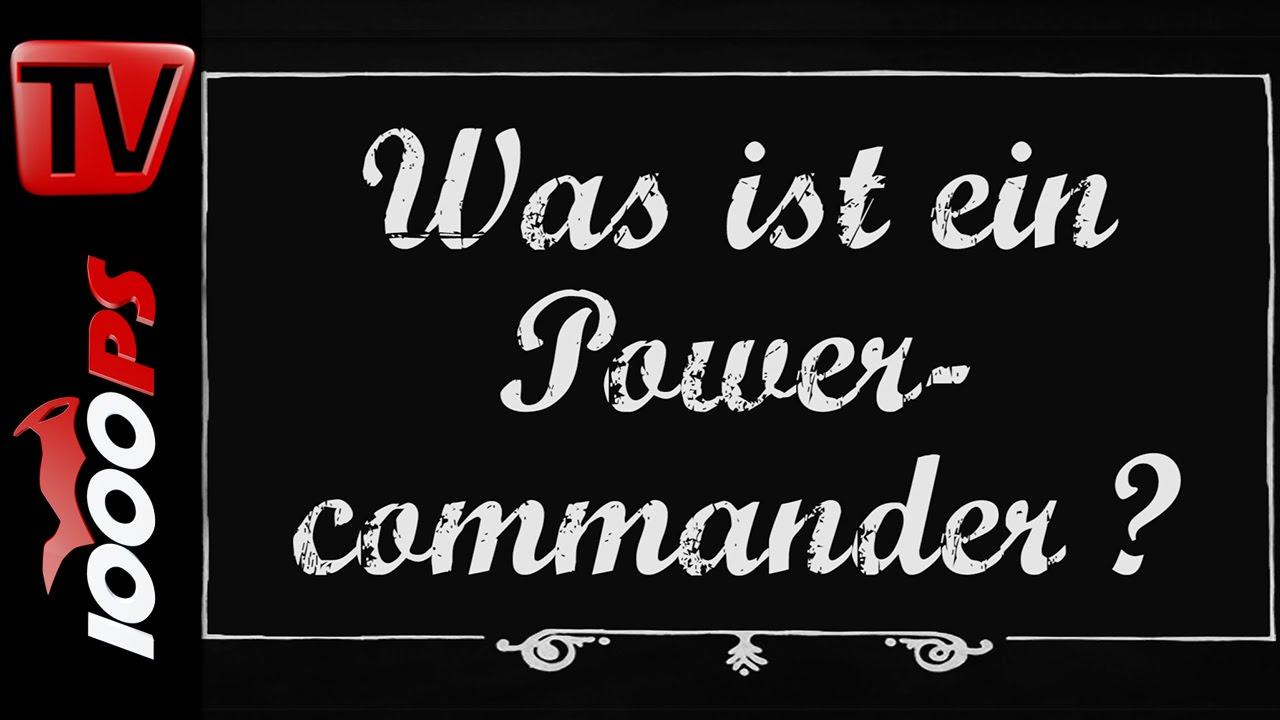 Was ist ein Powercommander? - Motorrad Lexikon