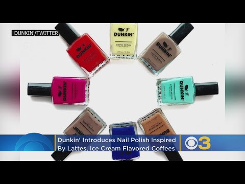 Craig Stevens - Dunkin is now selling Nail Polish To Match your Coffee??