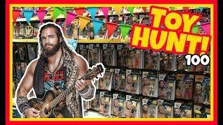 TOY HUNT!!! Walking With Elias | WWE Elite 60 Action Figure Fun #100