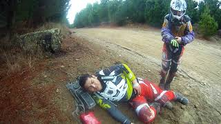 Berm Buster 2015 Taupo Accident