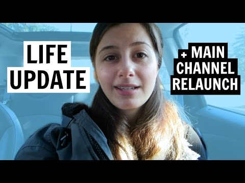 I'M SPREADING MYSELF THIN + MAIN CHANNEL RELAUNCH