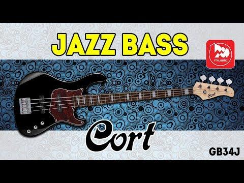 CORT GB34J - доступная бас-гитара в стиле FENDER JAZZ BASS