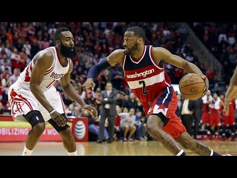 James Harden Got OKIE DOKED by John Wall's Behind...