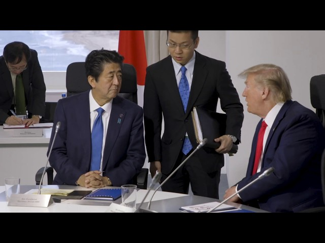 President Trump Attends 45th G7 Summit in Biarritz, France