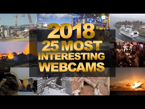 EarthCam's 25 Most Interesting Webcams of 2018