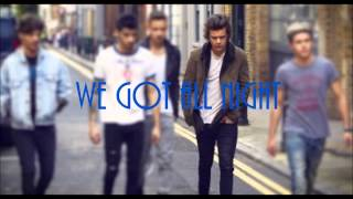 One Direction Why Don't We Go There (Lyrics)