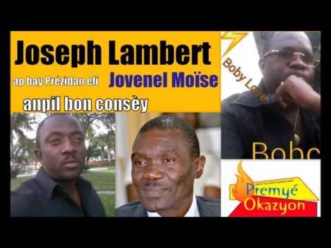 Sénatè Joseph Lambert bay Prézidan Jovenel  Gwo konsèy sou fason li ta dwé gouvèné Ayiti