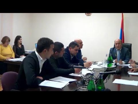 Բյուրեղավան համայնքի ավագանու արտ. նիստ-27.12.18