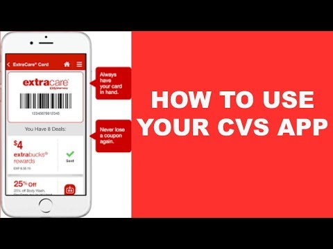 HOW TO USE YOUR CVS APP