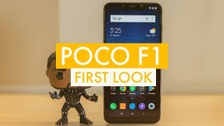 Poco F1 Armoured Edition First Look