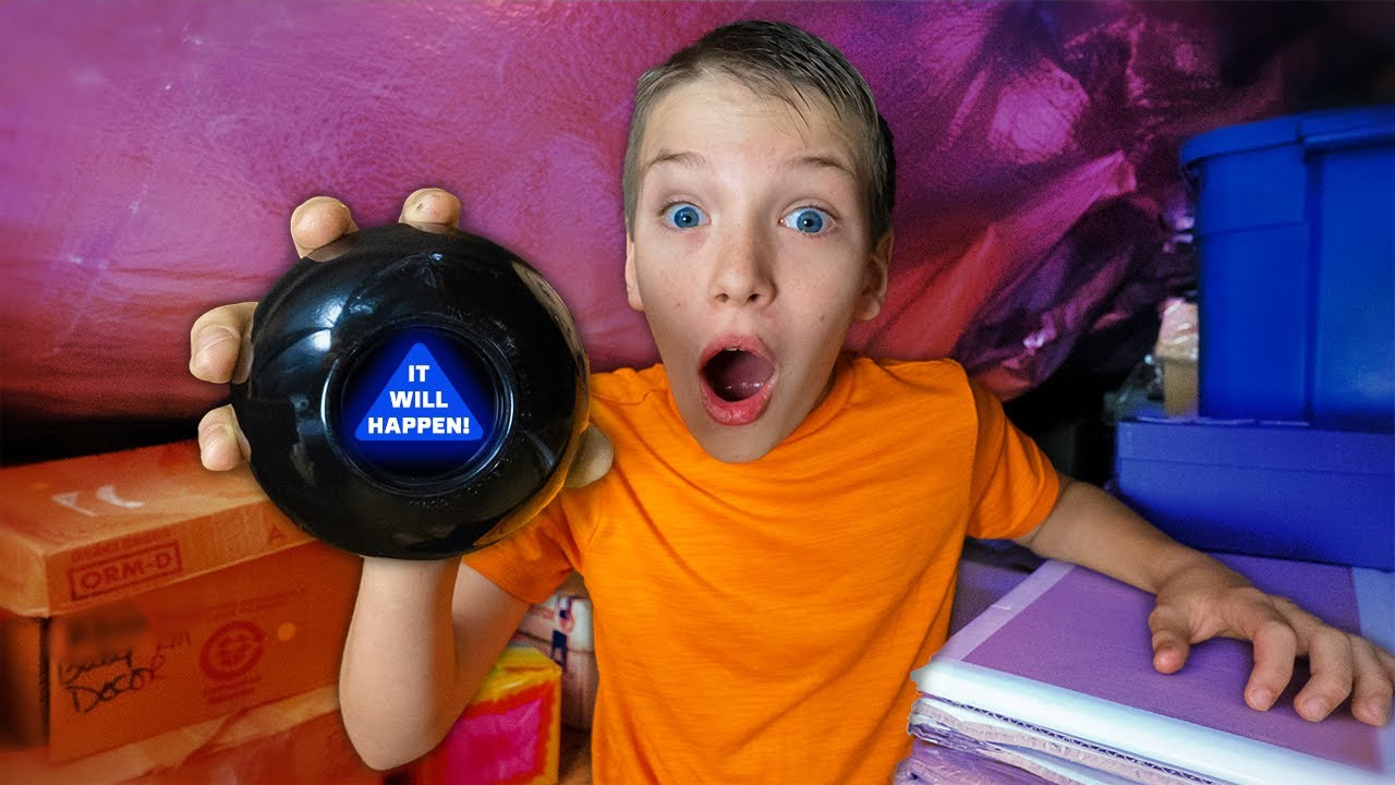 24 Hours Nobody is Safe The Mysterious 8 Ball Found Shawn! Magic Eight Ball Control Us For A Day!