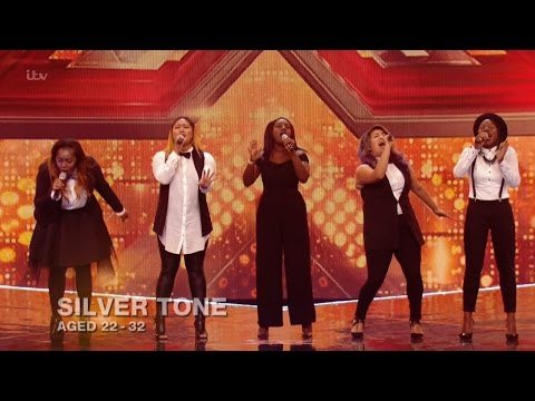 The X Factor UK 2015 S12E12 6 Chair Challenge - Groups - Silver Tone Full Clip
