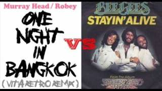 Bee Gees vs Murray Head - One Night Stayin