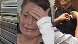 Полицейские обыскивают дом молодой матери, когда они открыли холодильник,то не поверили своим глазам