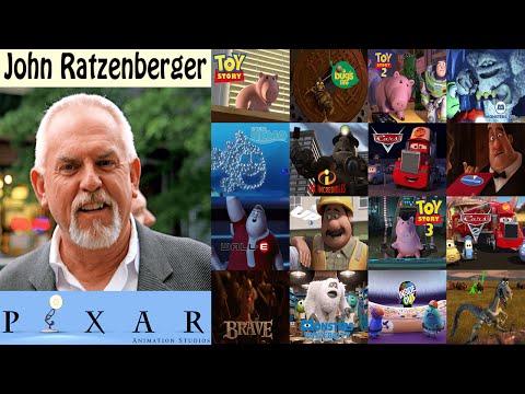 John Ratzenberger y las Películas de Pixar  XD