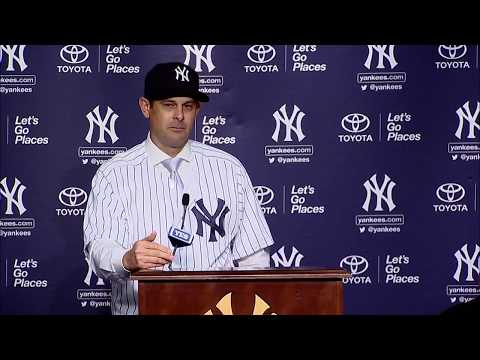 Aaron Boone introduced as New York Yankees' new manager | ESPN