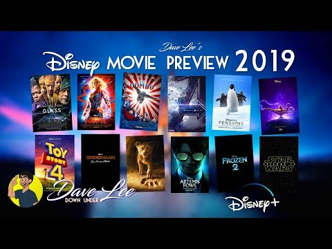 DISNEY MOVIES 2019: All 12 Movies Previewed & Explained