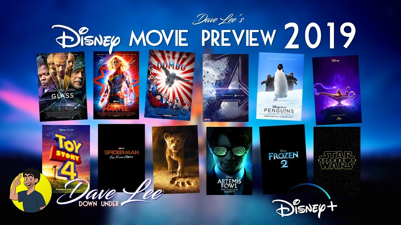 DISNEY MOVIES 2019 All 12 Movies Previewed  Explained