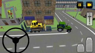 Tractor Driver 3D: City - Best Android Gameplay HD