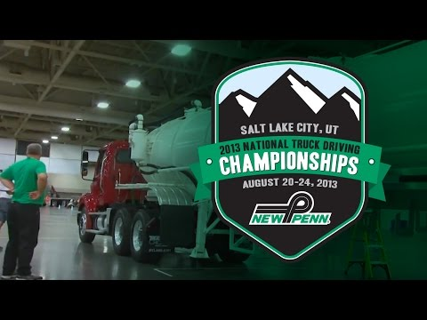 New Penn At The 2013 NTDC (National Truck Driving Championships) - Short Version