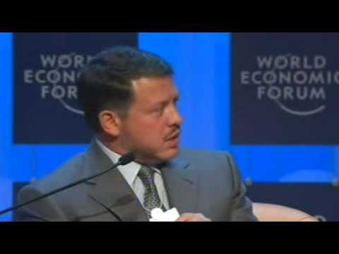 Davos Annual Meeting 2007 - King Abdullah II of Jordan