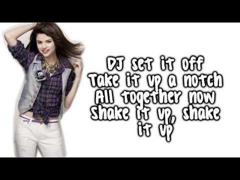 Shake It Up   Selena Gomez   Lyrics Full