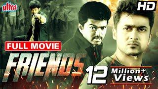 Friends    Suriya Vijay Devayani Vijayalakshmi  Hindi Dubbed Blockbuster Movie