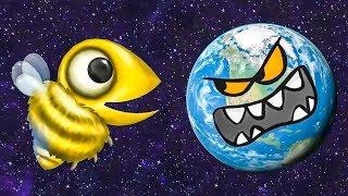 - Несносная ПЧЕЛА съела планету. ИГРА Tasty Planet Forever 4 на Игрули TV
