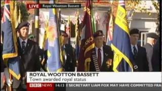Letters Patent Ceremony - Royal Wootton Bassett - HRH The Princess Royal