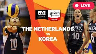 Netherlands v Korea - 2016 Women