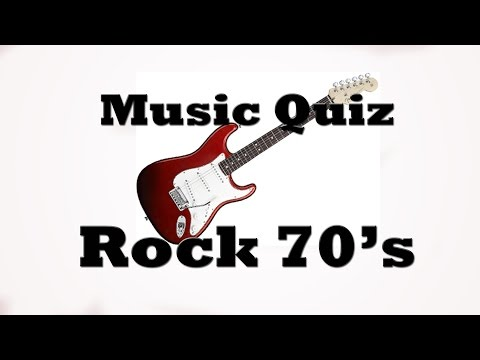 Music Quiz - Rock 70's