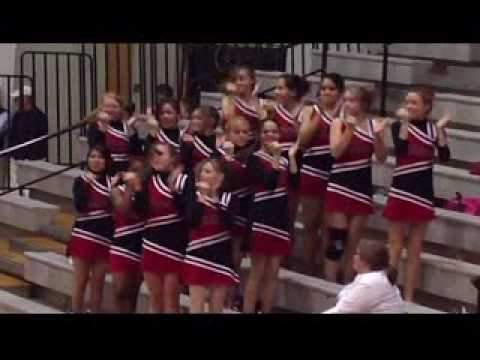 Video 2 NCMS Red Devils Cheerleaders NEWTON CONOVER MIDDLE SCHOOL 2-04-10