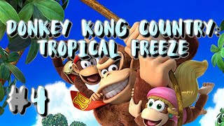 Donkey Kong Country: Tropical Freeze Play-through #4 [FUNKY MODE]   Jaebirds Live