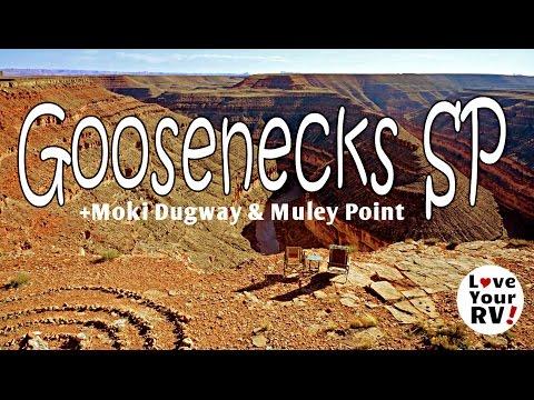 Goosenecks State Park, Moki Dugway and Muley Point in Utah