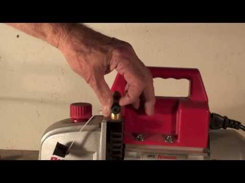 Intro to the HVAC vacuum pump part 1
