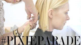 Pixie Haircut Transformation: Claire