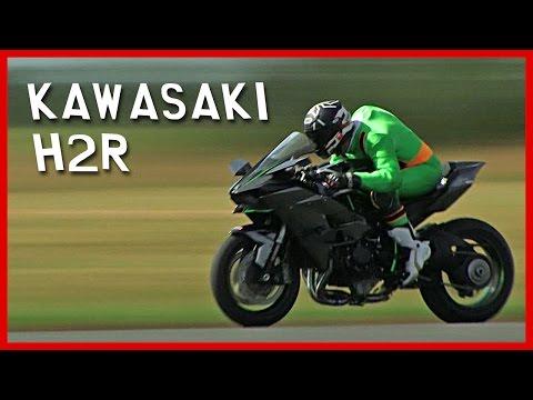 Kawasaki H2R test moto : Kawaman 2, à plus de 320 km/h !!! (English Subtitles)