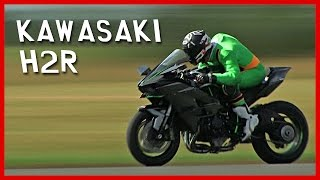 Kawasaki H2R  test : Kawaman 2, more than 320 km/h !!!