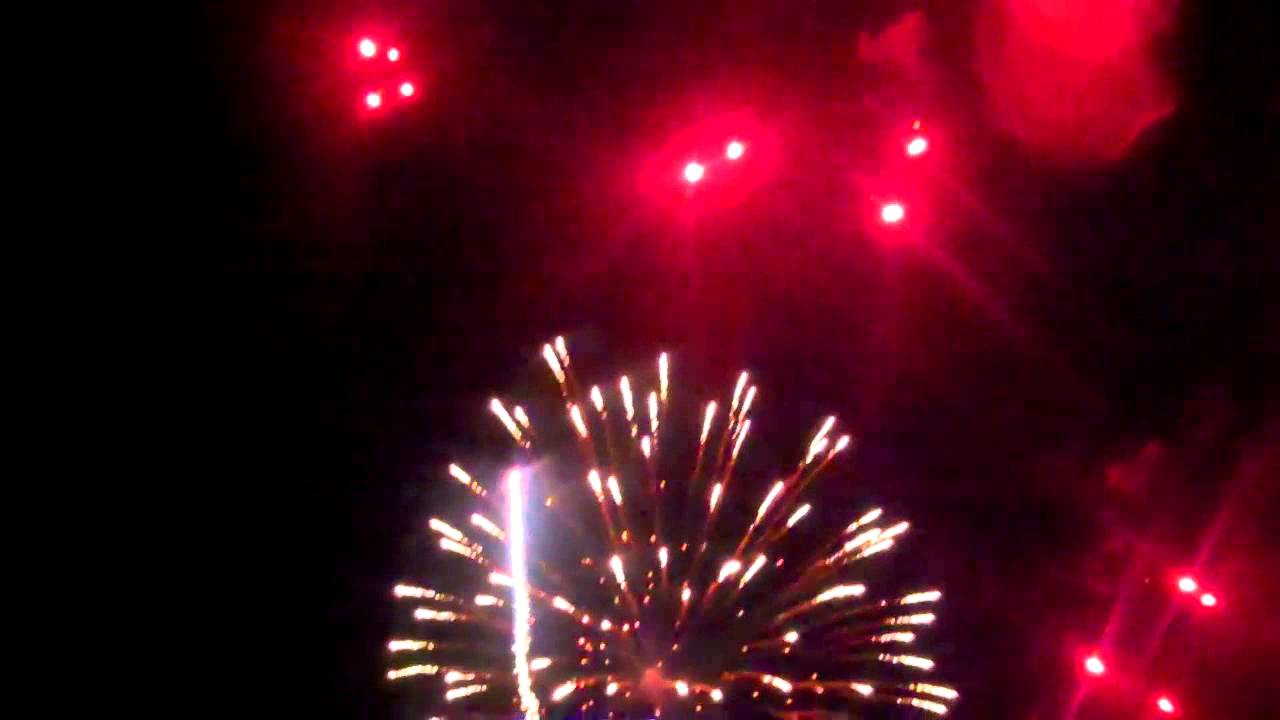 A video clip from fireworks display, Livingston, WI - YouTube