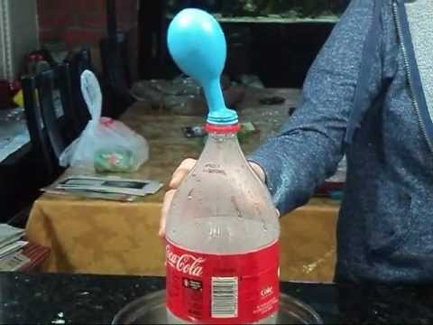 Gas Laws Mr. Pepek Poly, [Balloon-bottle Lab], [2,6] - YouTube