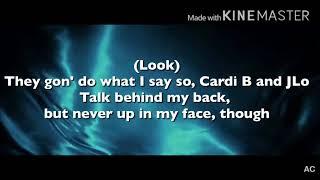 Jennifer Lopez Ft. DJ Khaled & Cardi B  - Dinero: Cardi B (Verse)