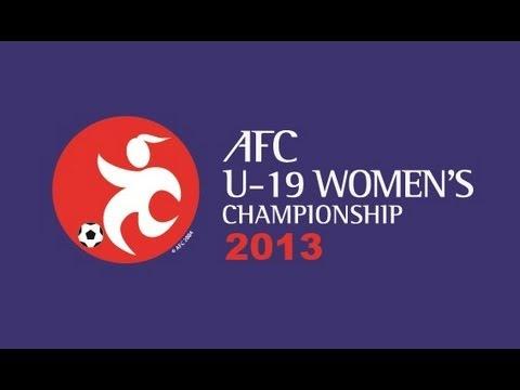 Australia vs China PR: AFC U-19 Women's Championship 2013