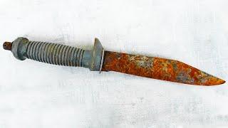 Restoration Rusty USSR Survival Knife