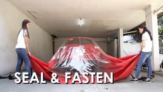 How to use Flood Guard - Car Bag / Car Cover for Flood