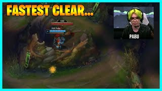 PRO Player Shows the FASTEST Jungle Clear...LoL Daily Moments Ep 1485