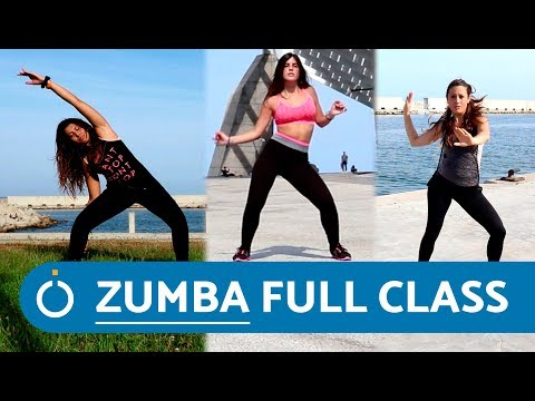 ZUMBA fitness cardio workout full video thumbnail