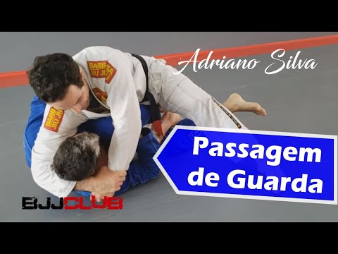 """Passagem de Guarda com Adriano Silva """"Grifo"""" - Jiu Jitsu - BJJCLUB"""