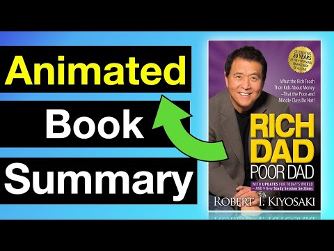 How to Become Rich! ►  Rich Dad Poor Dad | 📔Animated Book Summary