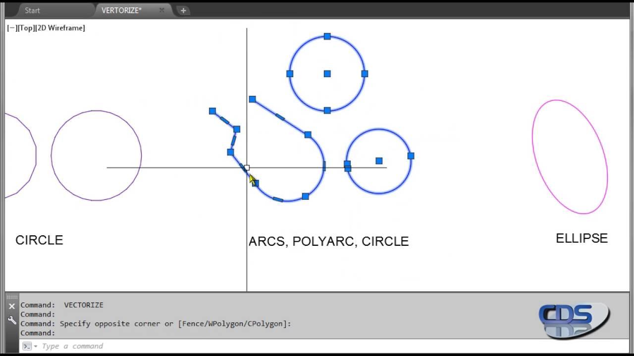 VECTORIZE – Multifunction Vector ConversionTool | AutoCAD